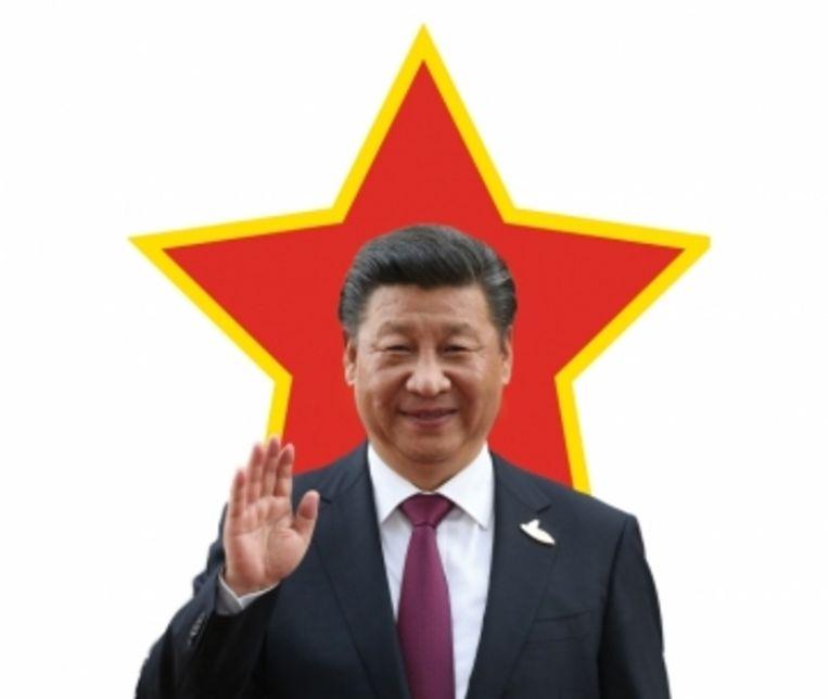 De Chinese president Xi Jinping. Beeld