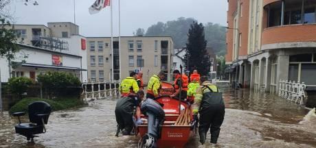 Zoetermeerse redders ploeterden door Valkenburg: 'Er was een grote eensgezindheid'
