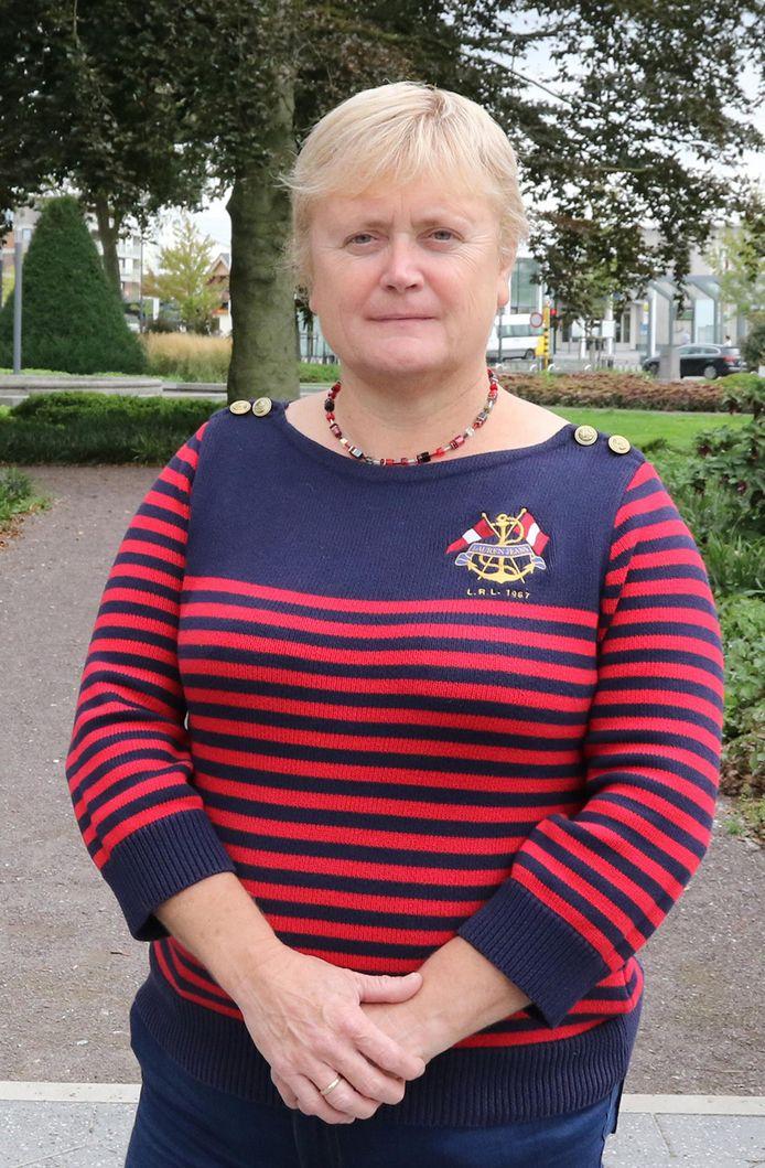 Fractieleider Nancy Six (Vlaams Belang).
