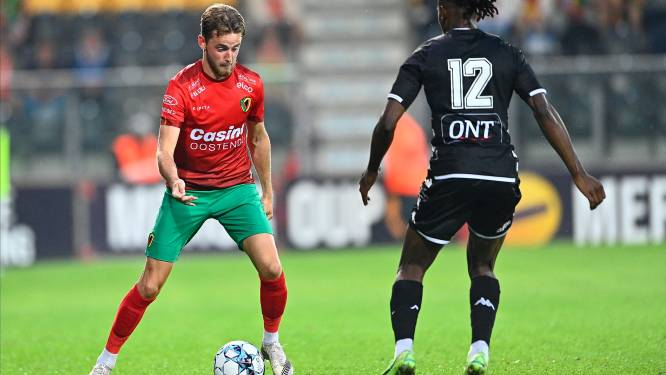"Robbie D'Haese (KV Oostende): ""0-3-nederlaag is een overdreven uitslag"""