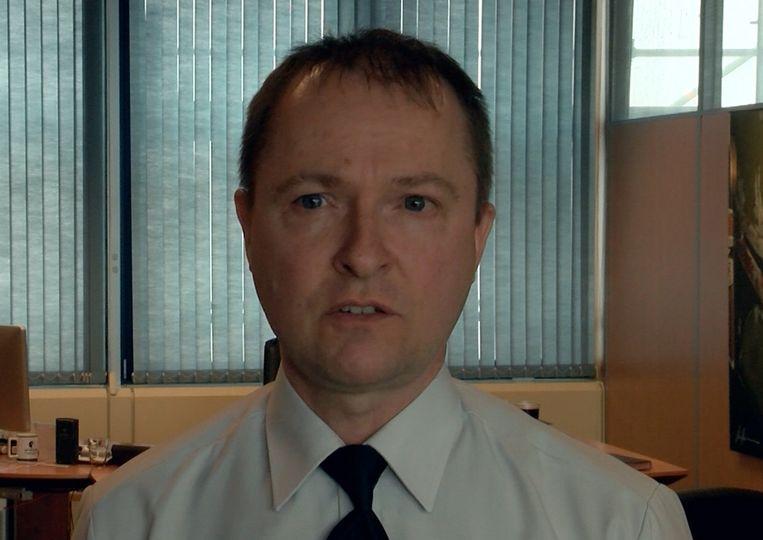 Antwerps korpschef Serge Muyters. Beeld kos