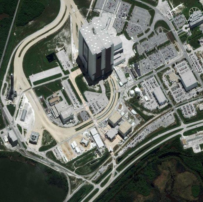 Kennedy Space Center in Florida. © Digitalglobe