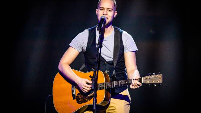 """Taalkunstenaar Daan Goutsmet (27) schreef zijn nummer voor The Voice zelf: """"Ik wil het Nederlandstalige lied promoten"""""""