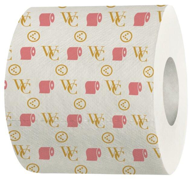 Het chique toiletpapier van Kruidvat.