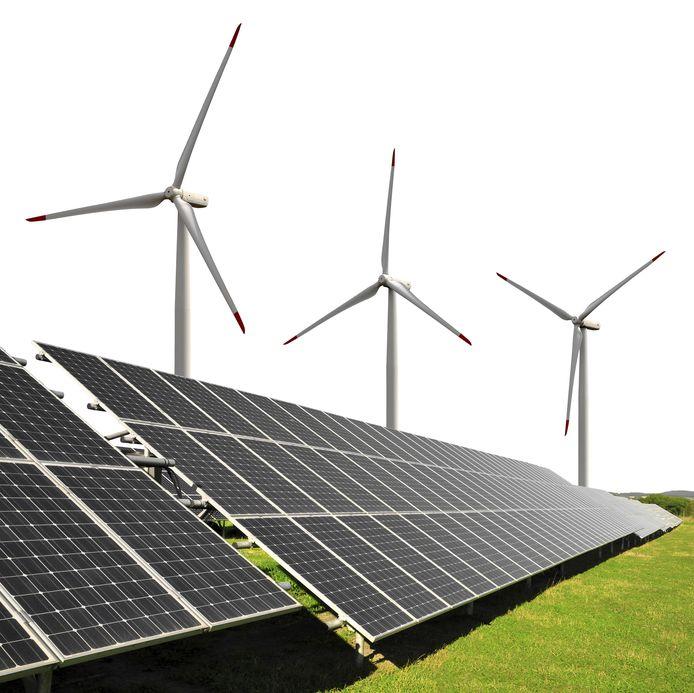Een virtuele energiecentrale verzamelt lokaal opgewekte duurzame stroom.