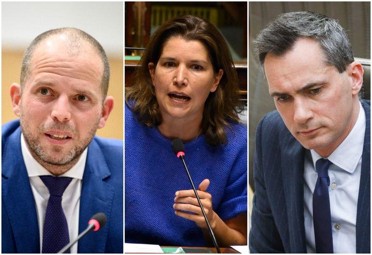 Theo Francken, Valerie Van Peel en Lorin Parys zijn onder meer kandidaat. Beeld Photo News / Belga