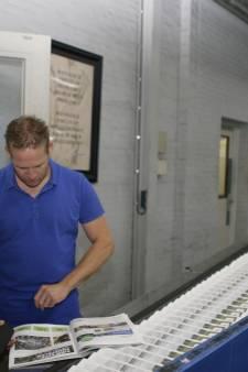 Honderdduizend Effe noar Geffe-krantjes rollen van de pers