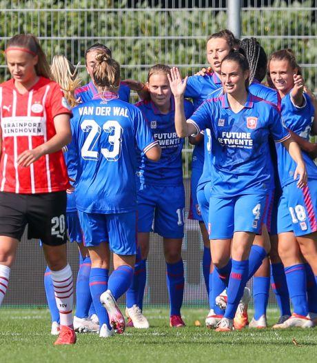 FC Twente Vrouwen moet buigen voor PSV