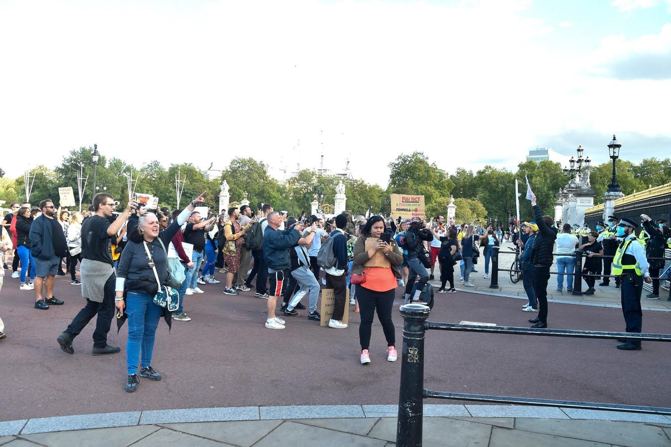 Een blik op de protesten.