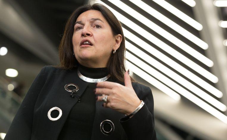 Marie-Christine Marghem (MR), minister van Energie, Leefmilieu en Duurzame Ontwikkeling.  Beeld BELGA