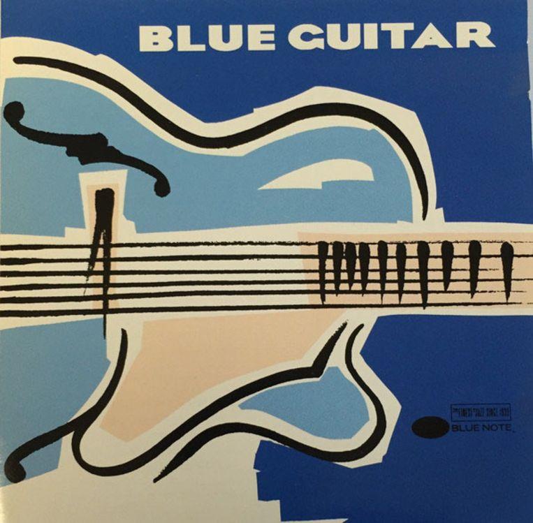 Illustratie en ontwerp Mike Larson, compilatiealbum Blue Note met opnamen uit 1941-1989, verschenen in 1992. Beeld Universal Music Group