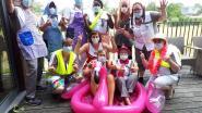 Personeel woonzorgcentrum houden eigen mini foute party op afdeling