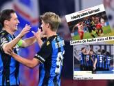 """Un Club """"magique"""", un Vanaken bluffant: louanges étrangères pour les Brugeois"""
