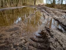 Omleidingsroute nu Oude Trambaan wordt gerepareerd, groot landbouwverkeer straks eigenlijk niet meer welkom