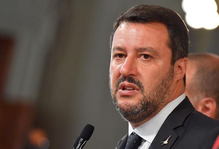 Salvini zou gedegradeerd worden van vicepremier die de afgelopen maanden de lakens uitdeelde in Italië tot leider van een oppositiepartij.