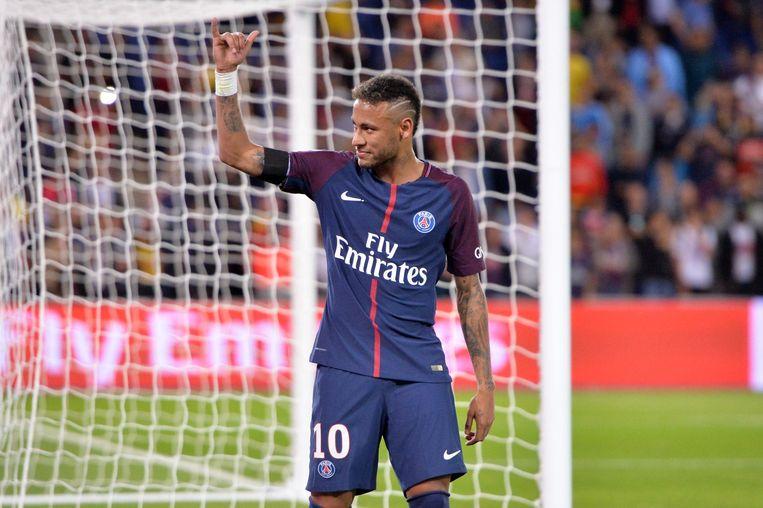 Neymar komt met PSG naar Brussel. Beeld Photo News
