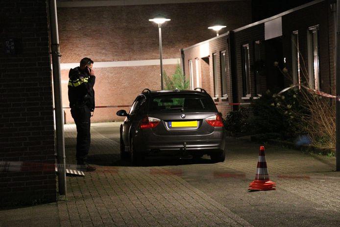 De mannen sloeg in Eindhoven in een grijze BMW op de vlucht.