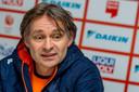 Jeroen Otter: ,,Voor de wedstrijd stuurde Sjinkie een text message waarin hij iedereen succes wenste.''
