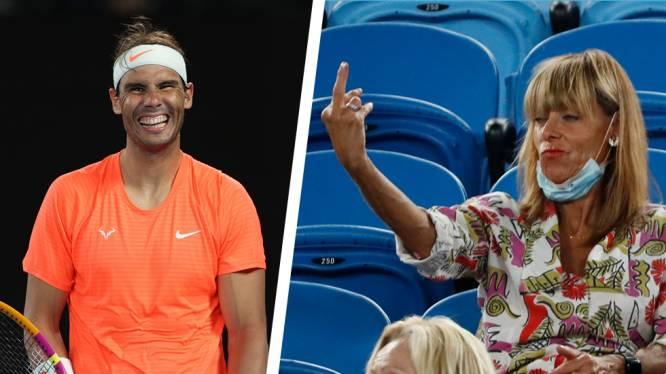"""Vrouwelijke 'fan' die door het lint ging tegen """"saaie"""" Rafael Nadal reageert: """"Alcohol maakt je een beetje ongeremd"""""""