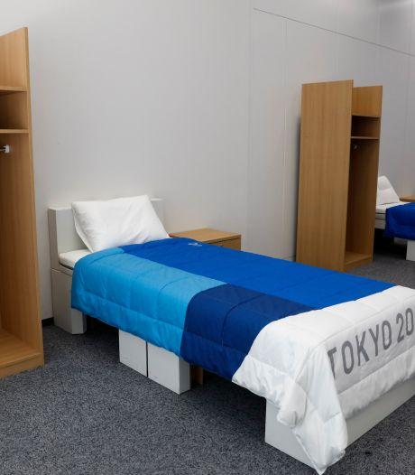 """Les lits """"anti-sexe"""" des JO de Tokyo font des remous sur les réseaux sociaux"""