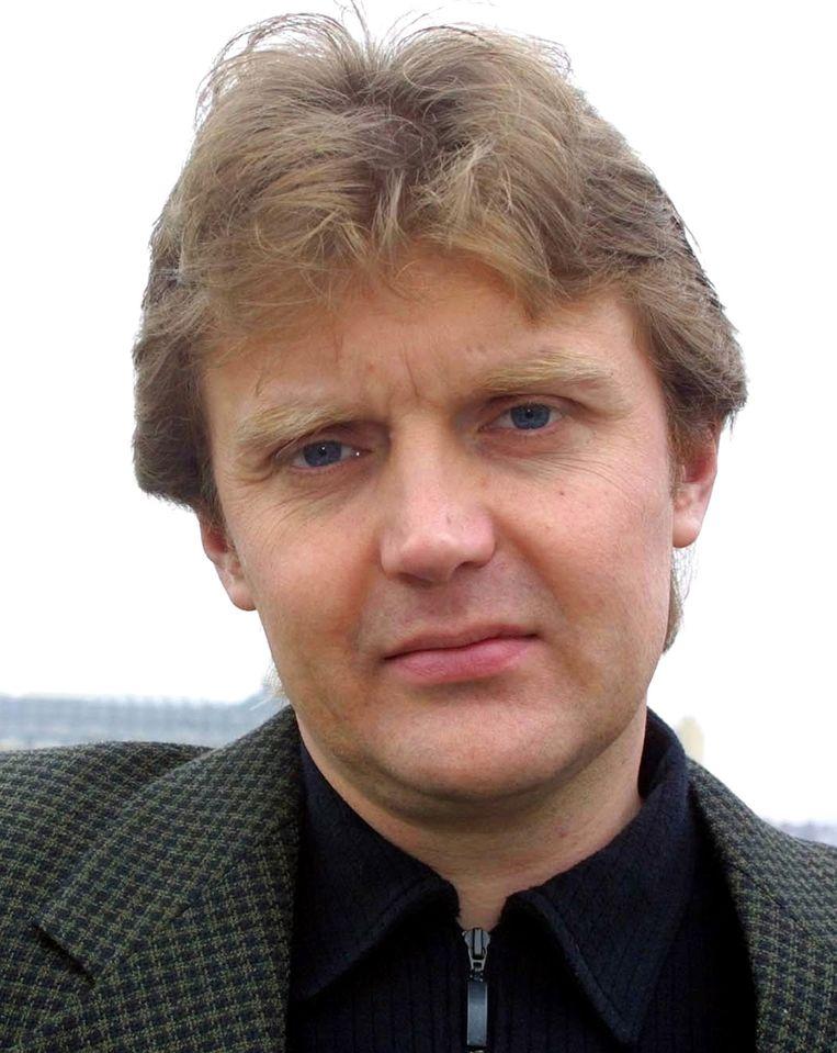 Alexander Litvinenko, auteur van het boek 'Blowing Up Russia: Terror From Within'. Beeld AP