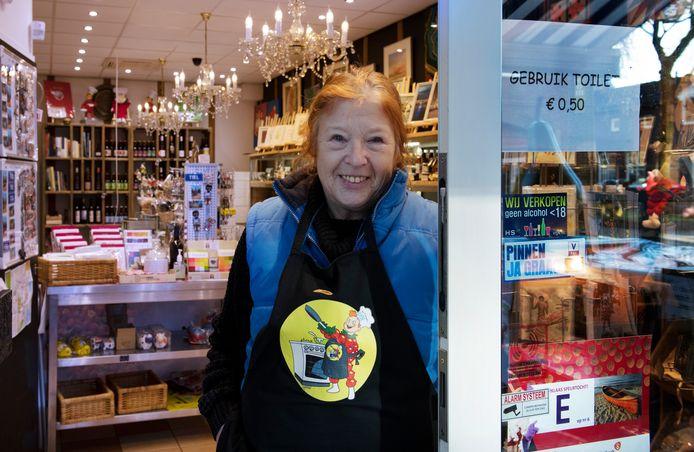 Margo Hendriks: ,,Ik heb hier in de winkel een genderneutraal toilet, ik heb er maar één.''