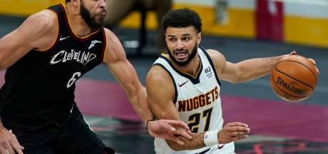 Murray leidt Nuggets met 50 punten Nuggets voorbij Cavaliers