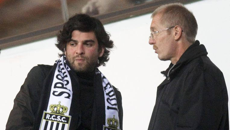 Didier Beugnies, hier rechts van Mehdi Bayat, werkte eerder al voor Charleroi en RWDM Brussels.