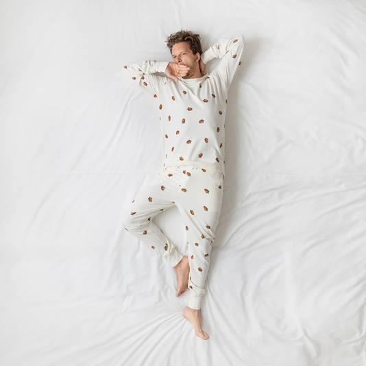 Model Winternuts: de pyjama van Jesse Klaver.