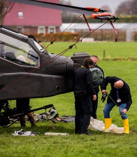 Piloten Apache niet vervolgd om raken stroomkabels bij Culemborg