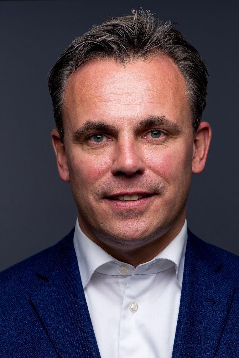 Mark Harbers (VVD): De oud-havenwethouder van Rotterdam wordt nu staatssecretaris van Veiligheid en Justitie Beeld Jeroen Arians
