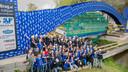 Langste bierkrattenbrug TU Eindhoven