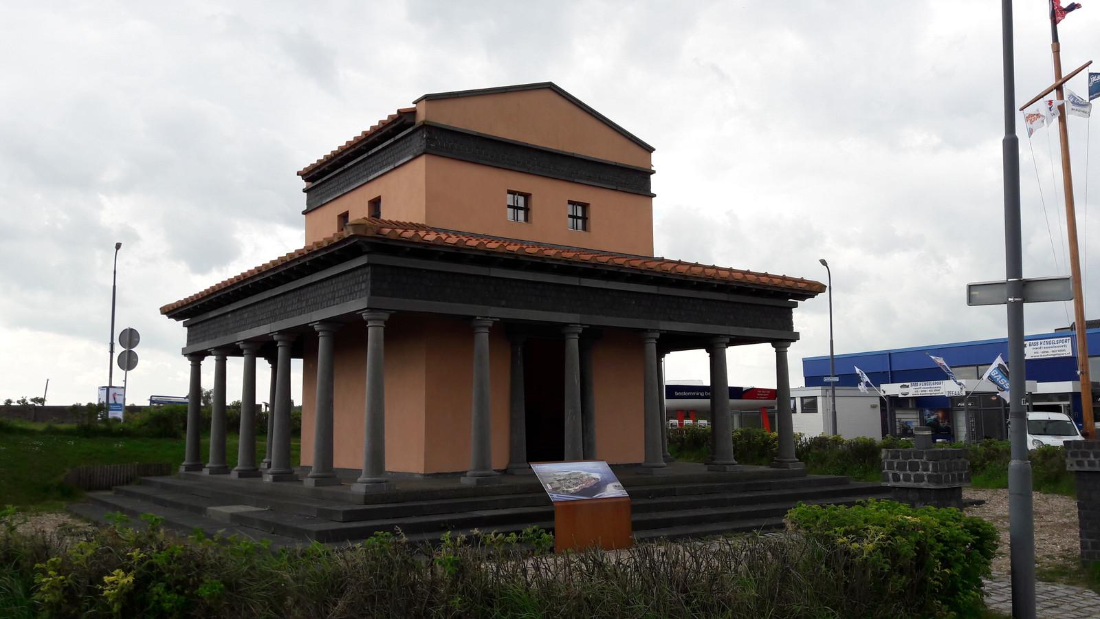 De Nehalenniatempel in Colijnsplaat.