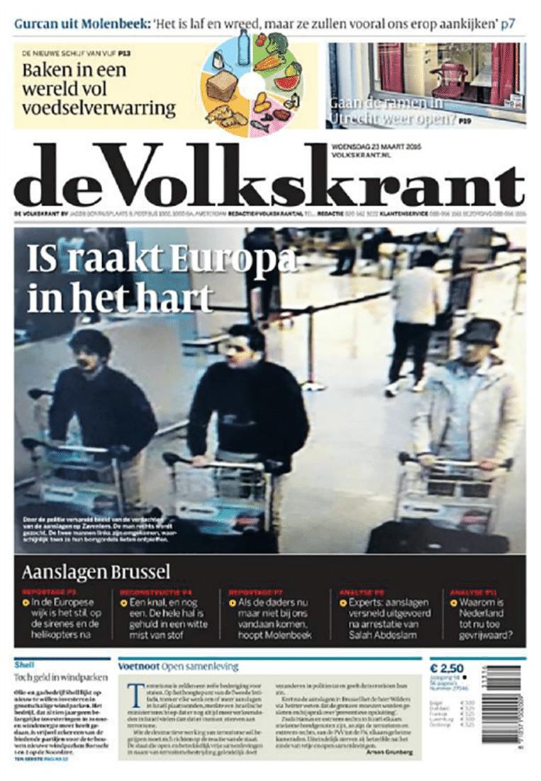 null Beeld Cover de Volkskrant
