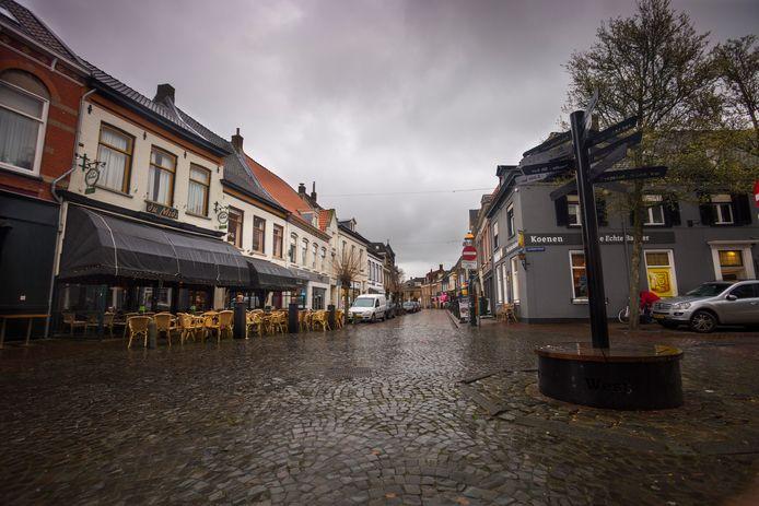 Het centrum van Doesburg