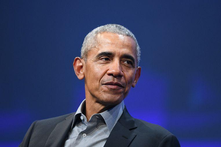 De voormalige Amerikaanse president Barack Obama. Beeld EPA