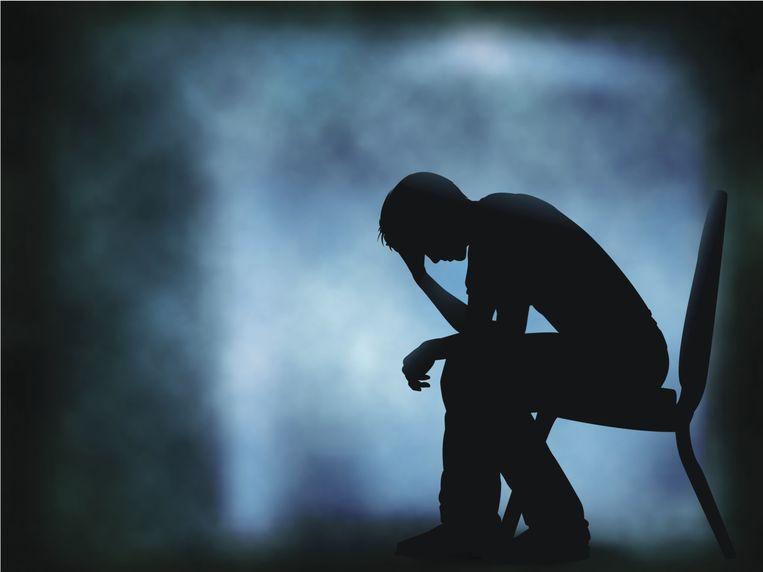 De nieuwe theorie is gestoeld op het feit dat we ons allemaal ellendig voelen wanneer we ziek zijn. Het gevoel dat je niet in staat bent iets te doen als je ziek bent, is ook een typisch symptoom van een depressie. Beeld Thinkstock