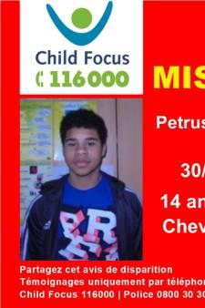 Un ado de 14 ans porté disparu depuis plus de trois semaines à Mol