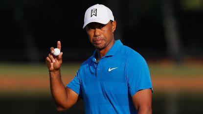 Tiger Woods op weg naar eerste zege op PGA Tour sinds 2013
