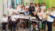 Sportpaleisvrienden Zingem organiseren fietsmarathon '48 uur op rollen' voor Zonnehoeve Living+ Nazareth