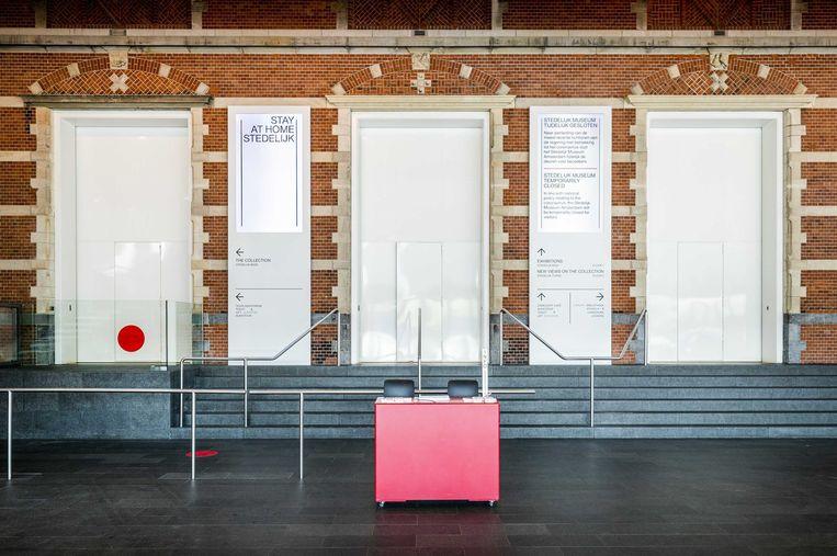 Interieur van het Stedelijk Museum. Beeld ANP
