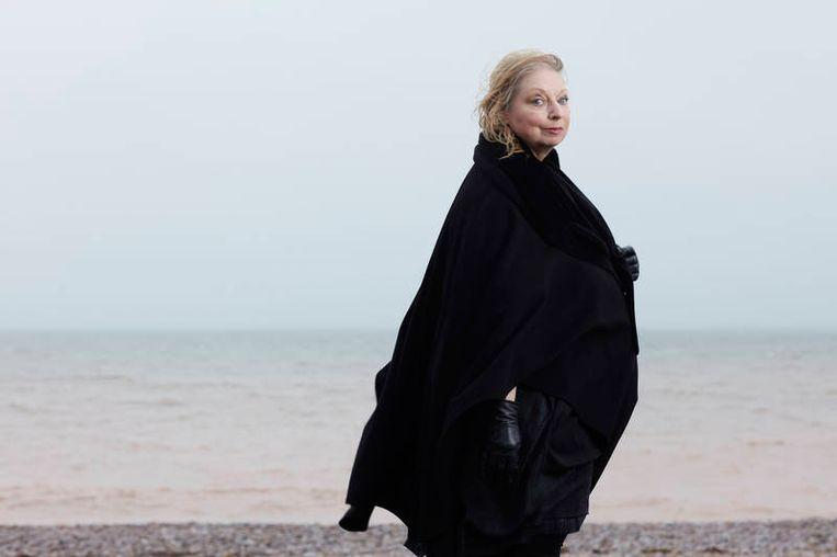 'We wonen in een kustdorp in Devon in een appartement met uitzicht op zee.' Beeld David Levene / The Guardian & The Observer / HH