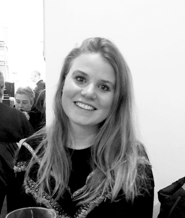 Renee Aandewiel (19) - Student communicatie aan de HvA - Amsterdam-Oost. Beeld -