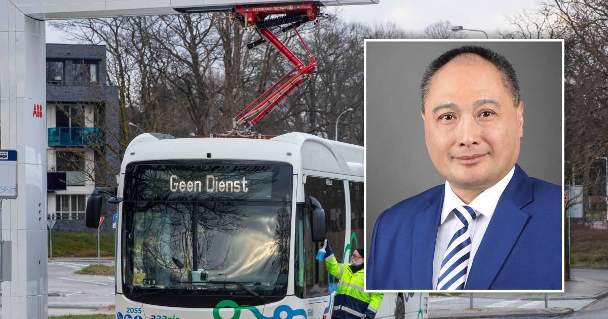 Directeur Chinese pechbussen doorbreekt stilte: 'Mijn excuses aan alle reizigers en chauffeurs van Keolis' - De Stentor