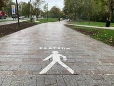 De weg naar het centrum kwijt? De stad Brugge helpt een handje