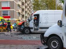 Twee ongevallen met meerdere slachtoffers op Ringweg Randenbroek in Amersfoort