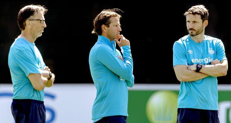 Mark van Bommel, de nieuwe coach van PSV. Beeld null