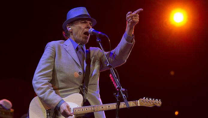 John Hiatt in actie op North Sea Jazz in 2012.