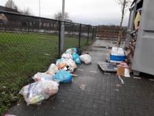 Rommel bij papiercontainer DVSG Groesbeek zorgt voor ergernis