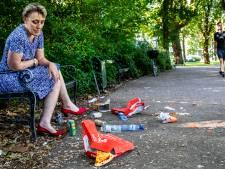 Parken lijken op zonnige dagen wel afvalbergen: Utrecht treedt veel te slap op